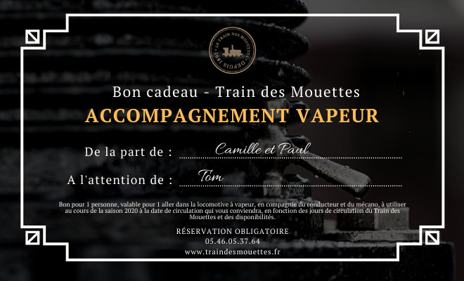 Accompagnement vapeur